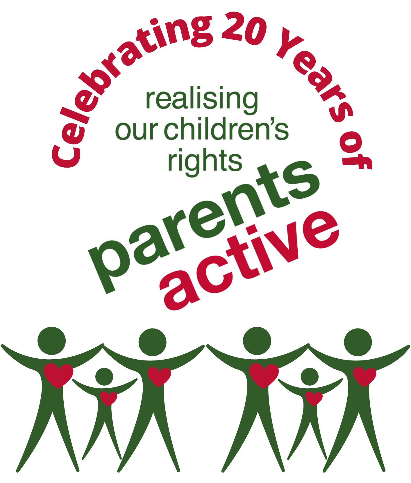Celebrating 20 years of Parentsactive